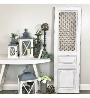 White Wood Door Panel