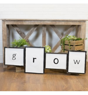 """Sign """"Grow"""""""