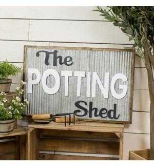 """Sign """"Potting Shed"""""""