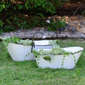Bathtub Planter Set/2