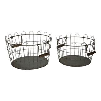 Wire Buckets Set/2