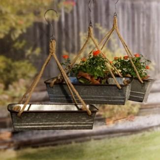 Hanging Planters Set/3
