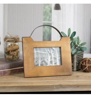 Wood Tabletop Picture Frame 4X6