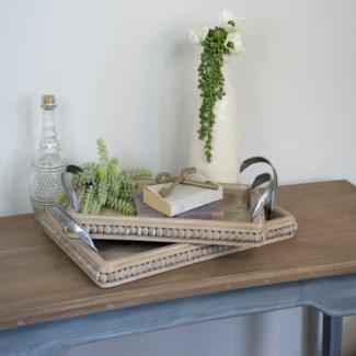 Wood Trays Set/2
