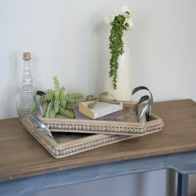 Wood Trays Set/2