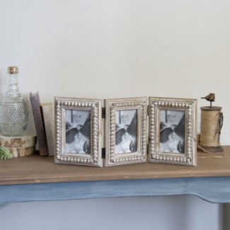Wood Photo Frame Triple