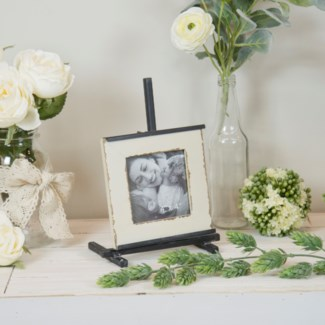 Wood Photo Frame W/ Stand 4X4