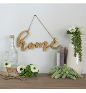 "Wood Word Art ""Home"""