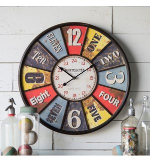 "23"" Framed Wall Clock"
