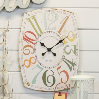 "Wood 27"" Wall Clock"