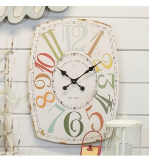 "Wood 27"" Wall Clock"