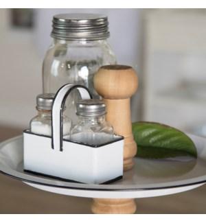Salt and Pepper Shaker W/Black