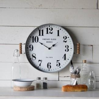 Tray Clock Round