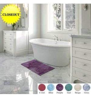 Plush Bath Rugs MF 20x32