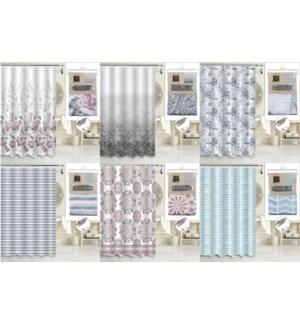 13 Pcs Shower Curtain
