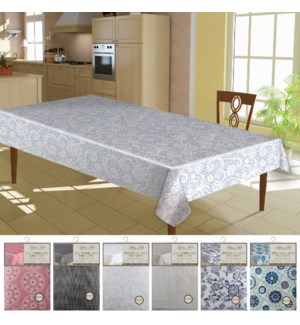 Printed Vinyl Flannel Back Table Cloth