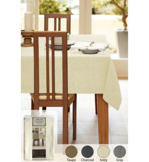 Table Cloth Deluxe Linen Look