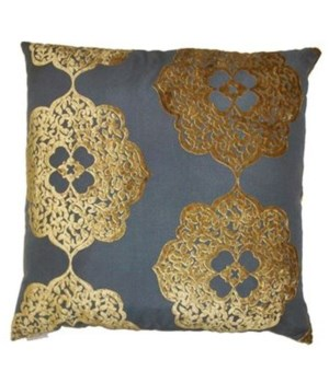 Maison Square Gold Pillow