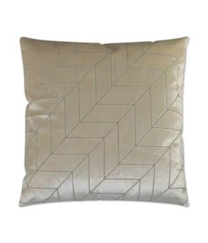 Villa Square Ivory Pillow