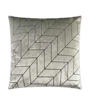 Villa Square Silver Pillow