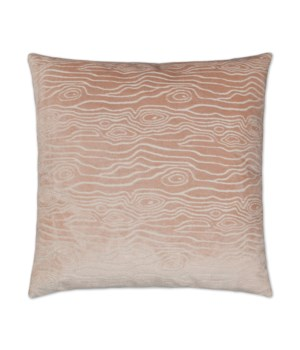 Rivers Square Blush Pillow