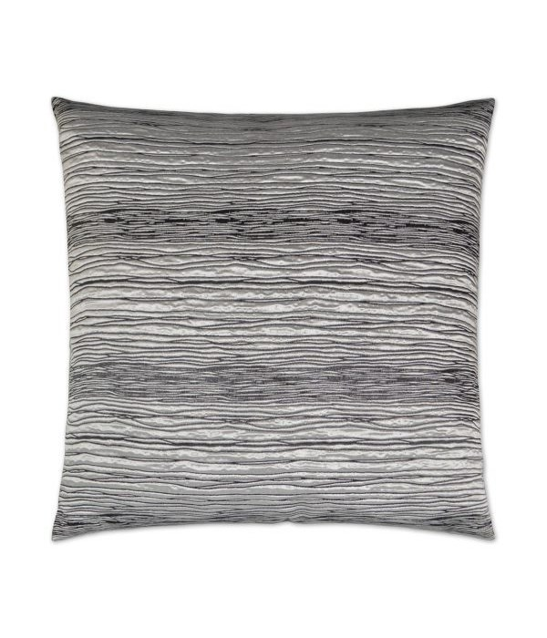 Faultline Square Silver Pillow