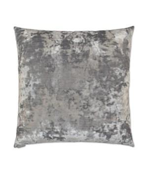 Miranda Square Silver Pillow
