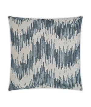 Vittorio Square Azure Pillow