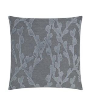 Fortuna Square Indigo Pillow