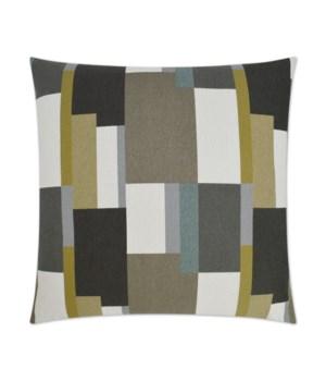 Colorblock Square Prairie Pillow
