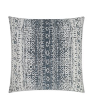 Laplander Square Blue Pillow