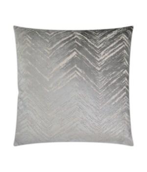 Zermatt Square Silver Pillow