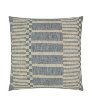 Ranchester Square Blue Pillow