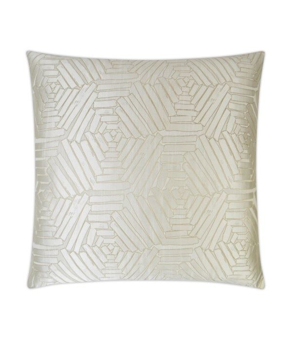 Percy Square Pearl Pillow