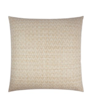 Thatchwork Square Natural Pillow