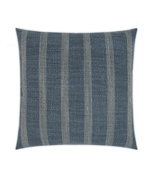 Channel Square Prussian Pillow