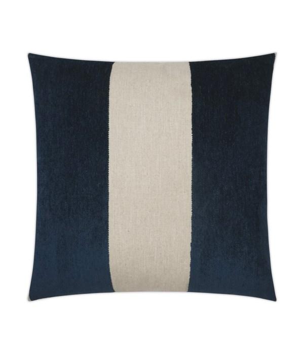 Magritte Square Cobalt Pillow