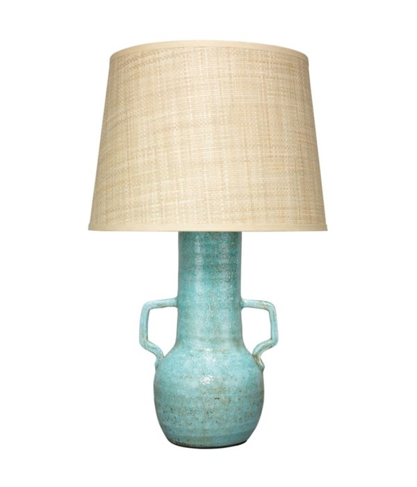 Madre Table Lamp in Blue Ceramic