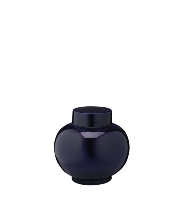 Dynasty Vase, Small, Navy