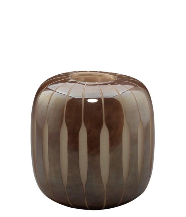 Small Finn Midcentury Vase, Mauve