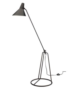 Franco Oil Bronze Tri-Pod Floor Lamp