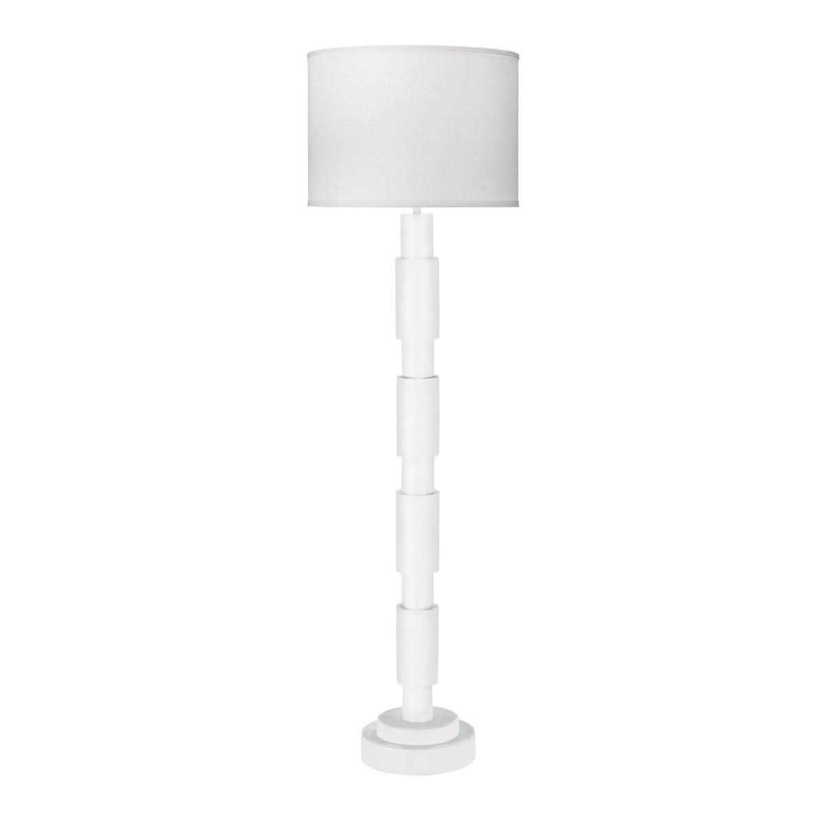 Quinn White Floor Lamp