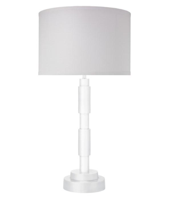 Quinn White Table Lamp
