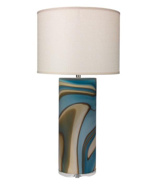 Large Terrene Table Lamp, Lg Drum