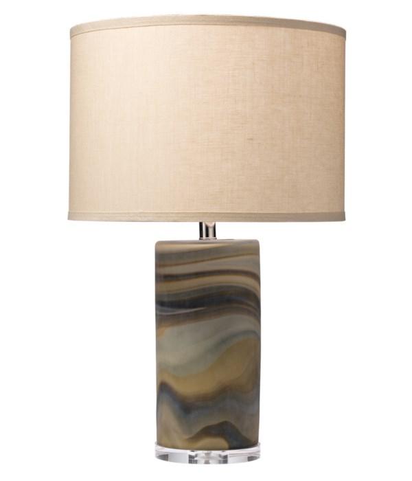 Terrene Table Lamp, Classic Drum