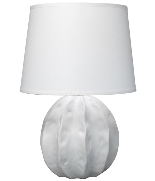 Urchin White Table Lamp
