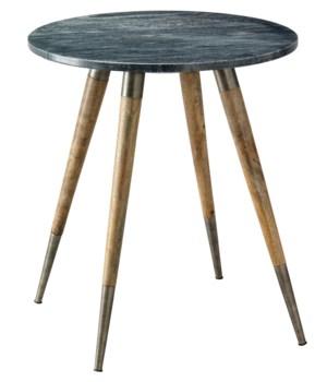 Owen Grey Marble Side Table