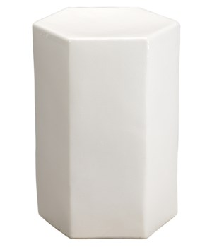 Small Porto White Side Table