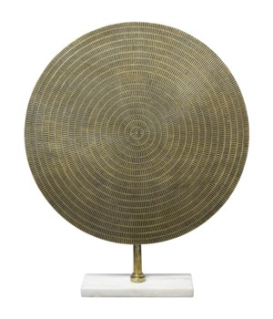 Cleopatra Large Antique Brass Sculpture