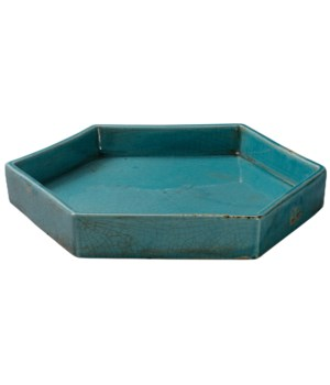 Large Porto Blue Tray
